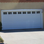 New Garage Door on Home #1 Before